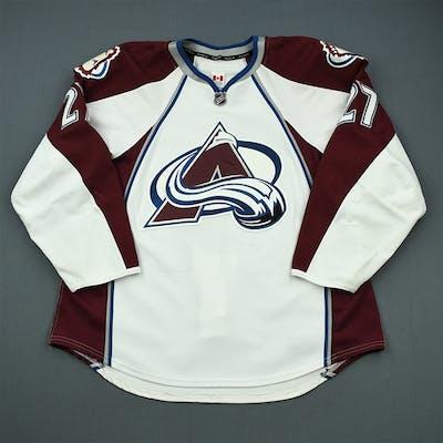 Quincey, Kyle White Set 1 Colorado Avalanche 2011-12 #27 Size: 56