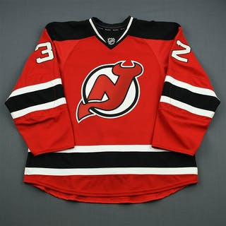 Taormina, Matt Red Game-Issued - Stanley Cup Final w/ No SCF Patch