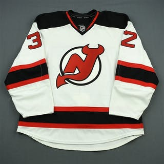Taormina, Matt White Set 3 - Game-Issued (GI) New Jersey Devils 2011-12