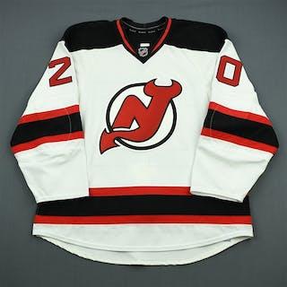Taormina, Matt White Set 1 - Game-Issued (GI) New Jersey Devils 2011-12