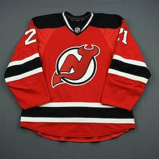 Tedenby, Mattias Red Set 2 New Jersey Devils 2011-12 #21 Size: 54