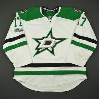 Shore, Devin White Set 3 w/ NHL Centennial Patch Dallas Stars 2016-17
