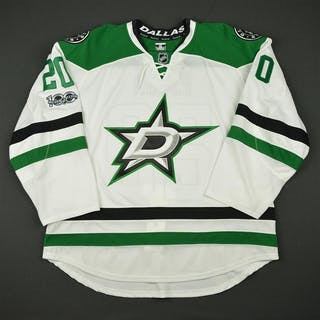 Eakin, Cody White Set 3 w/ NHL Centennial Patch - Game-Issued (GI)