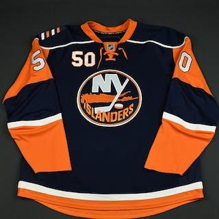 Marcinko, Tomas Navy Set 1 GI (RBK 1.0) New York Islanders 2007-08 #50 Size: 58