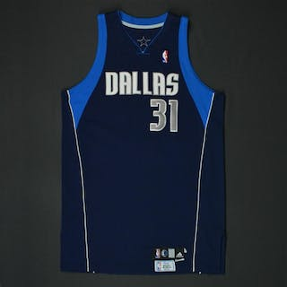 Terry, Jason * Navy Set 1 - Photo-Matched to 2 Games Dallas Mavericks