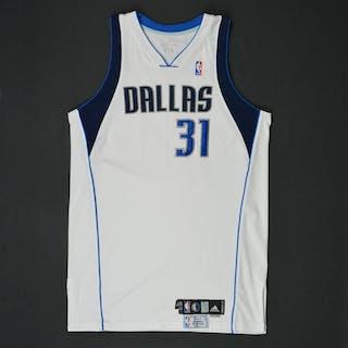 Terry, Jason * White Set 1 - Photo-Matched to 5 Games Dallas Mavericks