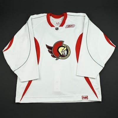Reebok White Practice Jersey Ottawa Senators 2006-07 Size: 58