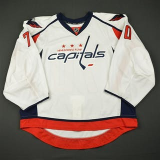 Holtby, Braden White Set 1 - Game-Issued (GI) Washington Capitals