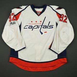 Kuznetsov, Evgeny White Set 3 / Playoffs w/ NHL Centennial Patch Washington