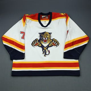 Wilson, Mike * White Florida Panthers 1999-00 #7 Size: 58