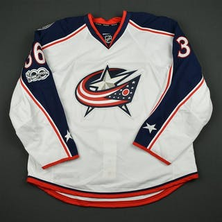 Dalpe, Zac White Set 2 w/ NHL Centennial Patch - Game-Issued (GI)