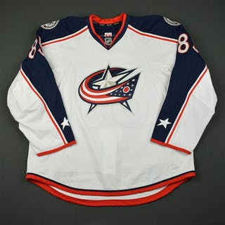 Kolesar, Keegan White Set 1 - Training Camp Only Columbus Blue Jackets
