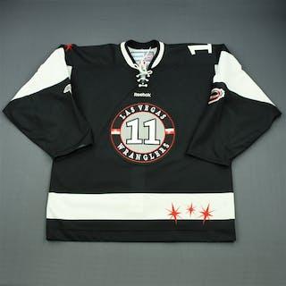 Kiriakou, Thomas Black Set 1 Las Vegas Wranglers 2011-12 #11 Size: 54