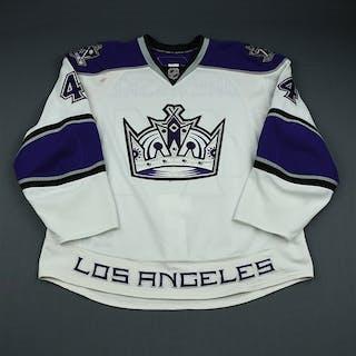 Drewiske, Davis White Set 1 Los Angeles Kings 2009-10 #44 Size: 58