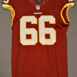 Chester, Chris Burgundy Regular Season Washington Redskins 2014 #66
