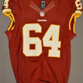 Golston, Kedric Burgundy Regular Season Washington Redskins 2014 #64