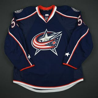 Ramage, John Blue Set 1 - Game-Issued (GI) Columbus Blue Jackets 2016-17