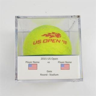 Petra Kvitova vs. Nicole Gibbs Match-Used Ball - Round 2 - Louis Armstrong