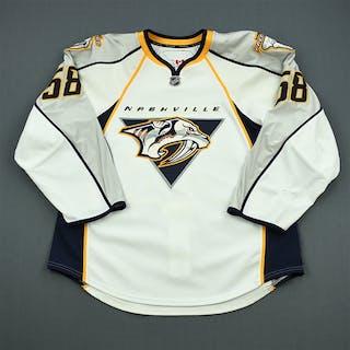 Klasen, Linus White Set 1 Nashville Predators 2010-11 #58 Size: 54