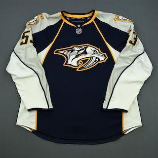 Mueller, Chris Navy Set 1 (NHL Debut) Nashville Predators 2010-11 #53 Size: 56