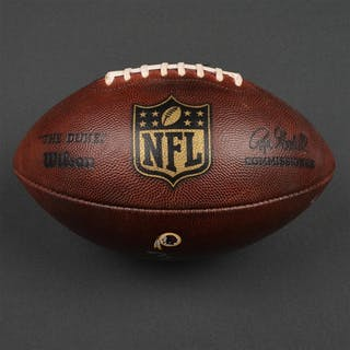 Game-Used Football Game-Used Football from October 2, 2016 vs. Cleveland