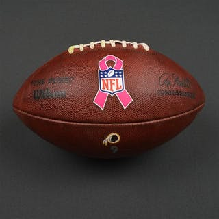 Game-Used Football Game-Used Football from October 9, 2016 vs. Baltimore