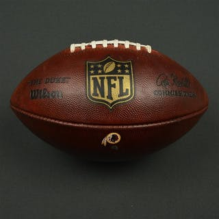 Game-Used Football Game-Used Football from December 20, 2015 vs. Buffalo