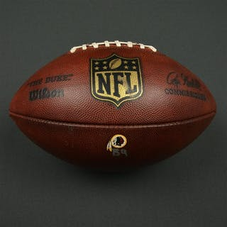 Game-Used Football Game-Used Football from December 26,2015 vs Philadelphia