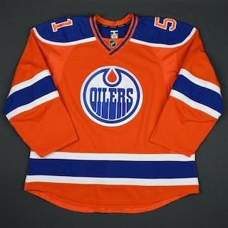 Lander, Anton Orange Set 1 Edmonton Oilers 2015-16 #51 Size: 56