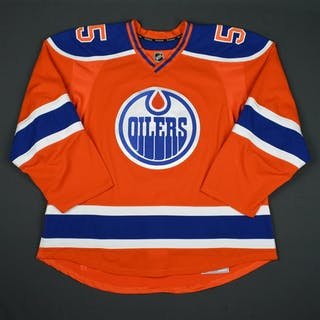 Letestu, Mark Orange Set 1 Edmonton Oilers 2015-16 #55 Size: 56