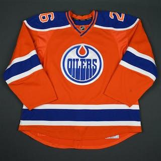 Pakarinen, Iiro Orange Set 1 Edmonton Oilers 2015-16 #26 Size: 58