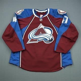 Brophey, Evan Burgundy Set 1 Colorado Avalanche 2011-12 #47 Size: 58
