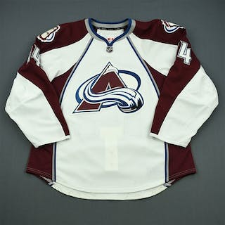 Carman, Mike White Set 1 - Game-Issued (GI) Colorado Avalanche 2011-12