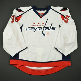 Cannata, Joe White Set 1 - Game-Issued (GI) Washington Capitals 2016-17