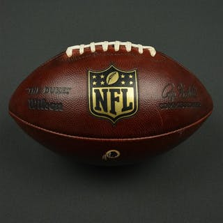 Game-Used Football Game-Used Football from December 13,2015 vs Chicago