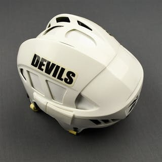Corrente, Matthew White RBK Helmet New Jersey Devils 2010-12 #NA