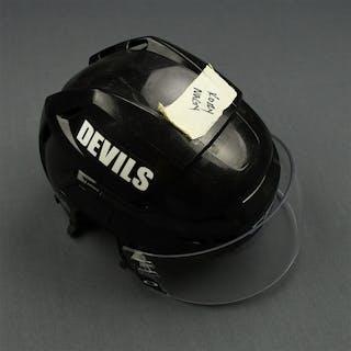 Nagy, Kory Black CCM Helmet with Oakley Shield New Jersey Devils 2011-12 #NA