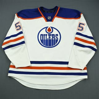 Eager, Ben White Retro Set 1 Edmonton Oilers 2011-12 #55 Size: 58