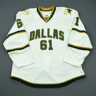 Crombeen, B.J. White Set 1 - Training Camp Only Dallas Stars 2011-12