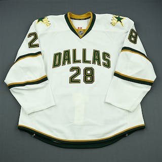 Fistric, Mark White Playoffs - Game-Issued (GI) Dallas Stars 2011-12
