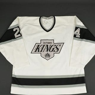 Breault, Frank * White Los Angeles Kings 1990-91 #24
