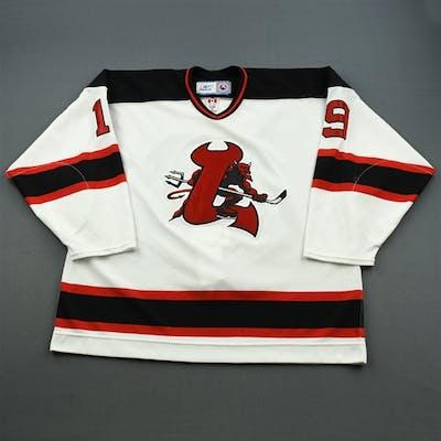 Mills, Brad White Set 2 Lowell Devils 2006-07 #19 Size: 58