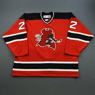Ryznar, Jason Red Set 2 Lowell Devils 2006-07 #22 Size: 58