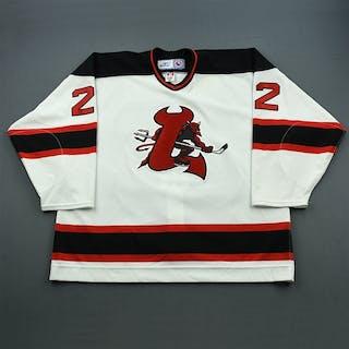 Ryznar, Jason White Set 2 Lowell Devils 2006-07 #22 Size: 58