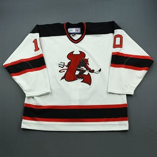 Vrana, Petr White Set 2 Lowell Devils 2006-07 #10 Size: 56