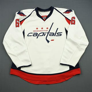 Wideman, Dennis * White Set 1 Washington Capitals 2011-12 #6 Size: 56
