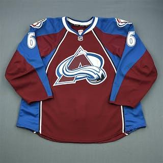 Johnson, Erik Burgundy Set 2 Colorado Avalanche 2011-12 #6 Size: 58+