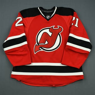 Tedenby, Mattias Red Set 2 New Jersey Devils 2010-11 #21 Size: 54