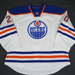 Gazdic, Luke White Set 1 Edmonton Oilers 2015-16 #20 Size: 58+