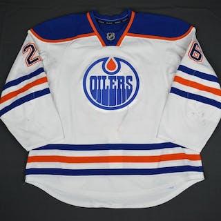 Pakarinen, Iiro White Set 1 Edmonton Oilers 2015-16 #26 Size: 58